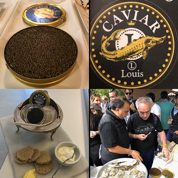 Caviar Ostras Louis